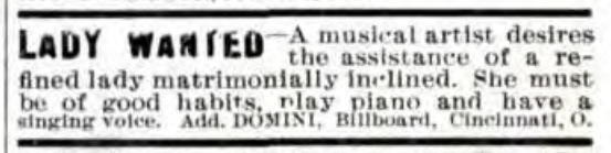 Billboard 1905